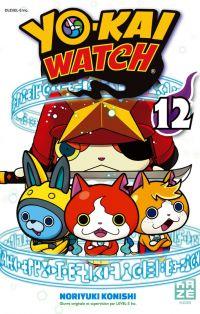 Yo-kai watch  T12, manga chez Kazé manga de Konishi