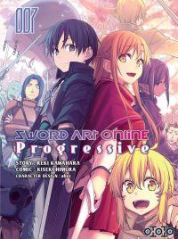 Sword art online - Progressive T7, manga chez Ototo de Kawahara, Abec, Himura