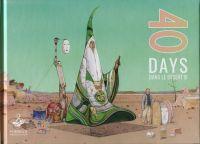 40 days dans le désert B, bd chez Mœbius Production de Moebius