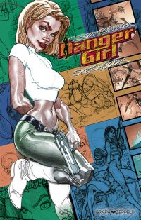 Danger girl : Sketchbook (0), comics chez Graph Zeppelin de Campbell
