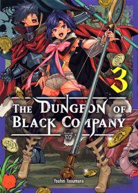 The dungeon of black company T3, manga chez Komikku éditions de Yasumura