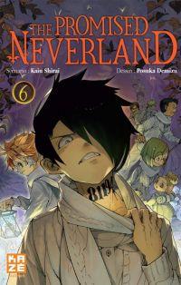 The promised neverland T6, manga chez Kazé manga de Shirai, Demizu