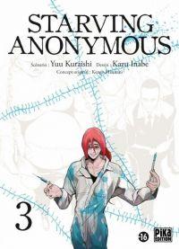 Starving Anonymous T3, manga chez Pika de Kuraishi, Inabe