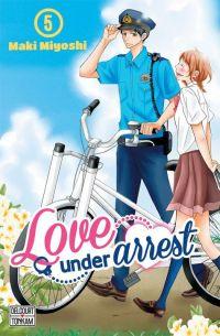 Love under arrest T5, manga chez Delcourt Tonkam de Miyoshi
