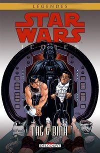 Star Wars - Icones T7 : Tag & Binks (0), comics chez Delcourt de Rubio, Marangon, Madsen