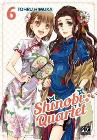 Shinobi quartet T6, manga chez Pika de Himuka