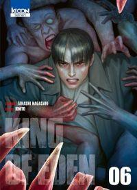 King of eden T6, manga chez Ki-oon de Nagasaki