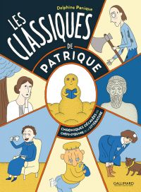 Les Classiques de Patrique, bd chez Gallimard de Panique