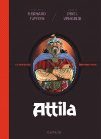 La Véritable histoire vraie T4 : Attila (0), bd chez Dupuis de Swysen, Pixel Vengeur