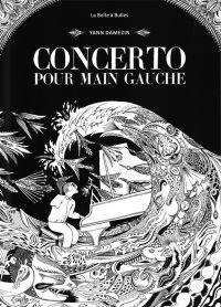 Concerto pour main gauche, bd chez La boîte à bulles de Damezin
