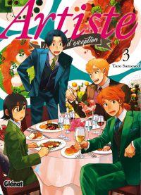 Artiste T3, manga chez Glénat de Samoyed