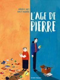 L'Âge de Pierre, bd chez Delcourt de Mourier, Solt