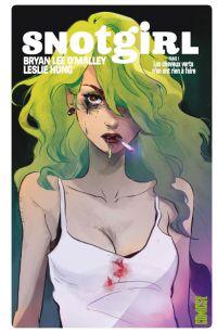 Snotgirl T1 : Les cheveux verts n'en ont rien à faire (0), comics chez Glénat de O'Malley, Hung