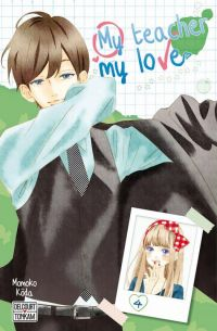 My teacher, my love T4, manga chez Delcourt Tonkam de Koda
