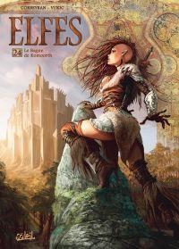 Elfes – cycle Les semi elfes, T24 : Le gagne de Komoorth (0), bd chez Soleil de Corbeyran, Vukic, May