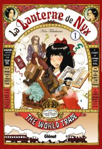 La lanterne de Nyx  T1, manga chez Glénat de Takahama
