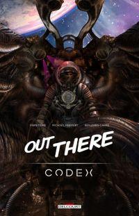 Out There, bd chez Delcourt de Peiffert, TigreFibre, Carré