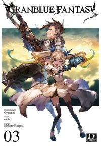 Granblue fantasy T3, manga chez Pika de Fugetsu, Cocho