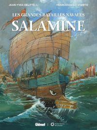 Les Grandes batailles navales T10 : Salamine (0), bd chez Glénat de Delitte, Lo Storto