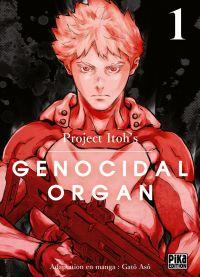 Genocidal organ T1, manga chez Pika de Project Itoh, Asô