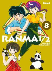 Ranma ½ T8, manga chez Glénat de Takahashi