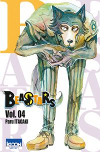 Beastars T4, manga chez Ki-oon de Itagaki