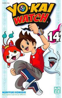 Yo-kai watch  T14, manga chez Kazé manga de Konishi, Level-5