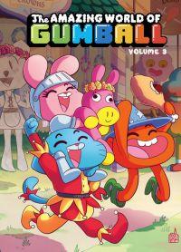 The amazing world of Gumball T3, comics chez Urban Comics de Brennan, Lawson, Farina, Cogar