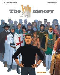 XIII T25 : The XIII History (0), bd chez Dargaud de Sente, Jigounov