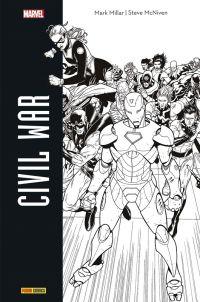Civil War, comics chez Panini Comics de Millar, McNiven