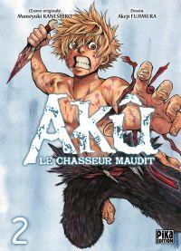 Akû, le chasseur maudit T2, manga chez Pika de Kaneshiro, Akeji
