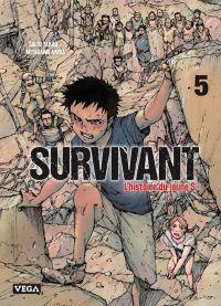 Survivant - l'histoire du jeune S T5, manga chez Vega de Saïto, Miyagawa