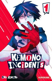 Kemono incidents T1, manga chez Kurokawa de Aimoto