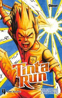 Tinta run T4, manga chez Glénat de Cointault