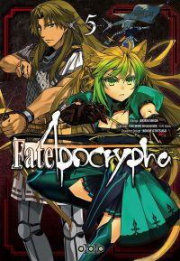 Fate/apocrypha  T5, manga chez Ototo de Higashide, Ishida
