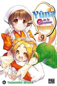 Yûna de la pension Yuragi T9, manga chez Pika de Miura