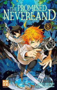 The promised neverland T8, manga chez Kazé manga de Shirai, Demizu