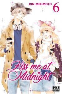 Kiss me at midnight T6, manga chez Pika de Mikimoto