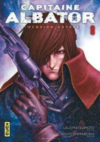 Capitaine Albator Dimension voyage T8, manga chez Kana de Matsumoto, Shimaboshi