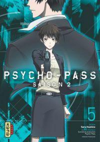 Psycho-pass Saison 2 T5, manga chez Kana de Hashino