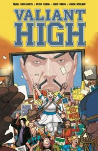Valiant High, comics chez Bliss Comics de Kibblesmith, Charm, Baron, Lafuente