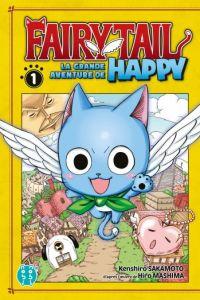 Fairy tail - La grande aventure de Happy  T1, manga chez Nobi Nobi! de Sakamoto