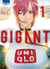 Gigant T1, manga chez Ki-oon de Oku