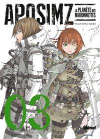 Aposimz T3, manga chez Glénat de Nihei