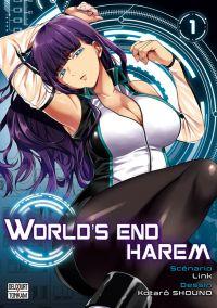 World's end harem T1, manga chez Delcourt Tonkam de Link, Shôno