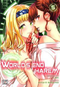 World's end harem T5, manga chez Delcourt Tonkam de Link, Shôno