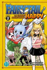 Fairy tail - La grande aventure de Happy  T2, manga chez Nobi Nobi! de Sakamoto