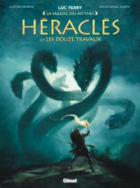Héraclès T2 : Les Douze travaux (0), bd chez Glénat de Bruneau, Duarte, Poli, Ruby, Vignaux