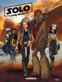 A Star Wars Story : Solo (0), comics chez Delcourt de Ferrari, Chimisso, Simeone, Kawaï Creative Studios, Turotti, Ghiglione