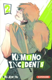 Kemono incidents T2, manga chez Kurokawa de Aimoto